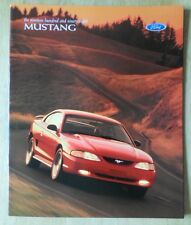 Ford Mustang  Usa Mkt Sales Brochure With Convertible Gt