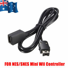 1.8m Controller Extension Cable Cord Lead For Nintendo Wii NES/SNES Classic Mini