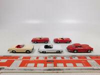 CN181-0,5# 5x Wiking H0/1:87 Oldtimer Mercedes-Benz/MB: 230 SL + 300 SL, NEUW