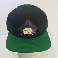 Vintage MiLB Kauai Emeralds Hawaii Winter New Era Snapback Cap Hat OSFA NWOT