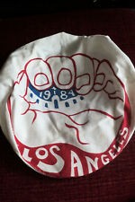 Vintage Rare Signed 1984 Los Angeles Summer Olympics Canvas Cap