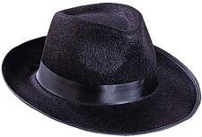 GANGSTER Cappello feltro NUOVO - Carnevale Cappello berretto copricapo