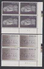 IRELAND, Scott #561-562: Btm Plate Blocks(2), MNH - 1983 EUROPA