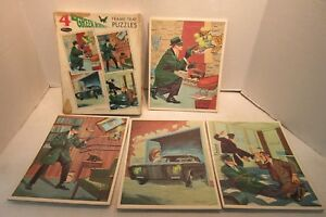 1966 Greenway Productions Whitman The Green Hornet Frame Tray Puzzles 4588:1.00