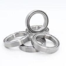 [5Pcs] S6806ZZ (30x42x7 mm) Stainless Steel Metal Ball Bearing Bearings S6806 zz