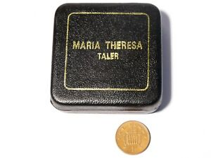 1780 Austria Maria Theresa 1 Taler Silver Coin Bullion Restrike  28g BOXED