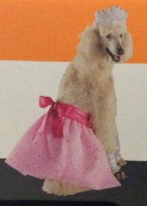 Princess Pink Pet Costume Dog Outfit Large/Extra Large L/XL Halloween Dress