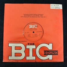 60's RADIO PRODUCTION SAMPLING MIX RECORD Terry's Kitchen The BIG Sound K-1-R