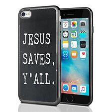 Jesus Saves Y'All For Iphone 7 (2016) & Iphone 8 (2017) Case Cover