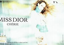 PUBLICITE ADVERTISING 126  2005  Dior ( 2pages)  parfum Miss Dior Chérie