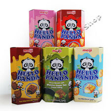 MEIJI HELLO PANDA BISCUITS 5 BOX FLAVOUR SELECTION