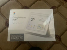 """Google Home Nest Hub - 7"""" touch screen - brand new and sealed"""