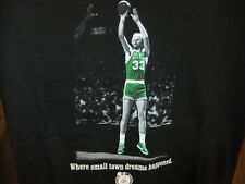 Larry Bird shirt Where Small Town Dreams Happened NBA Exclusive Collection med
