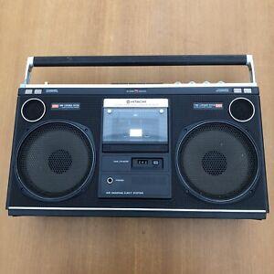 HITACHI Stereo Radio Cassette Recorder TRK-8080E - Some Faults- Vintage -Boombox
