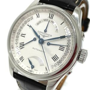 LONGINES L2.714.4 Master Collection Retrograde Day-Date Automatic Wristwatch