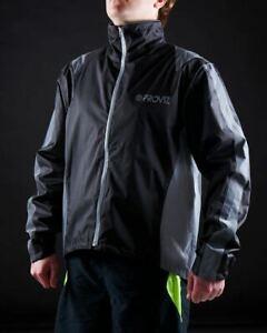 Proviz Nightrider Hi Visibility Women's Cycling Jacket Black Size 8 Hi Viz