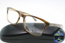 Ray-Ban RX Eyeglasses RB 5279 5542 Beige Horn/Brown Crystal Frame [55-18-145]