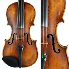 Vintage 4/4 violin - unlabelled handmade European instrument