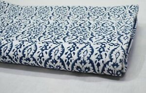 Indian Block Print Cotton Bedding Bedspread Throw Blanket Kantha Quilt Coverlet