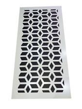 Decorative Radiator Cover. 3mm x 1215mm x 610mm. Laser Cut