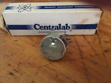 Centralab Linear Taper  WW-501 500 OHMS