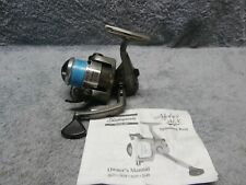 SHAKESPEARE ALPHA ALX OPEN FACE SPINNING FISHING REEL EXCELLENT WORKING COND.