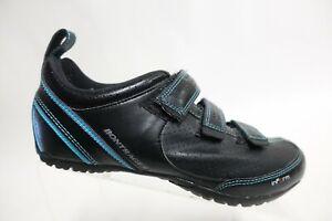 BONTRAGER Black Sz 8.5 (40 EU) Women Leather Cycling Shoes