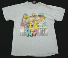 ed9bbee9c Vtg 1990s PreHIPstoric Flintstones T-Shirt Large hip hop hanna-barbera  cartoon