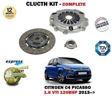 pour Citroen C4 + Picasso + Grand 1.6 VTI 120BHP 5FS 2013- > KIT EMBRAYAGE 3