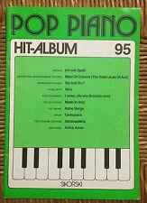 RACCOLTA SPARTITI  -  POP PIANO  -  HIT ALBUM  95  -  PER PIANOFORTE