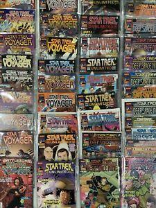 star trek comic lot deep space nine voyager unlimited 1990s marvel comics VF/NM