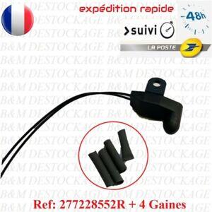 Sonde / Capteur température Air Extérieur Ref 277228552R: Renault + gaines
