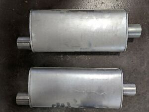 Walker 18180 Mufflers Set of two NEW