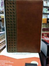 BIBLIA DE ESTUDIO SCOFIELD PIEL  CAFE CON VERDE REINA VALERA 1960 CON INDICE