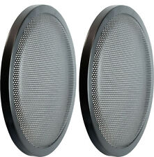 "12"" DJ Car Speaker Metal Mesh 2 Piece Sub Woofer Subwoofer Grill New Cover Pair"