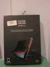 Native Union Leather Gripster Wrap Case/Cover for iPad Mini 1/2/3 - Gold
