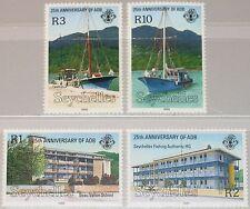 SEYCHELLES SEYCHELLEN 1989 710-13 692-95 25 Ann African Development Bank MNH