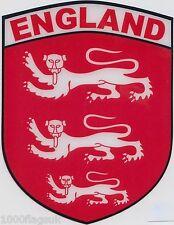 Old England INGLESE TRE LEONI Bandiera Vinile Auto Vetrofania