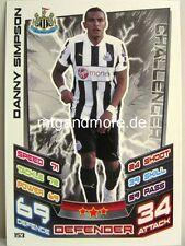Match Attax 2012/13 Premier League - #153 Danny Simpson - Newcastle United