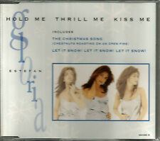 GLORIA ESTEFAN Hold me thrill Kiss w/ 2 RARE CHRISTMAS TRX 1994 CD Single SEALED