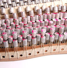 20PCS 820uF 2.5V Utrla Low ESR PC motherboard Aluminum Solid Capacitor 2.5v820uf
