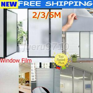 Home Window Film Room Bathroom Door Privacy Bath Sticker PVC Frosted 45/60cm