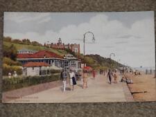 Promenade & Spa Pavilion, by Felix Stowe, Vintage Card, unused