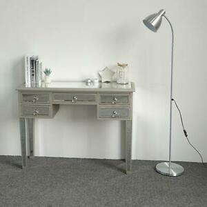 Modern Mirrored Glass Dressing Table Bedroom Entryway Console 106 x 39 x 79cm
