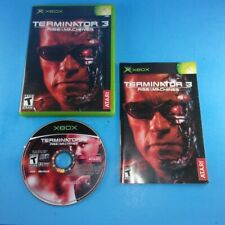 New listing Terminator 3: Rise of the Machines - Xbox - Complete In Box - Free Shipping