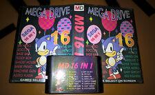 ## SEGA Mega Drive - SEGA 16 in 1 / MD Spiel ##