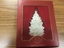 Lenox ChristmasTree Christmas Ornament  American by Design