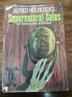 Alfred Hitchcock's supernatural tales of terror and suspense HC book 1973