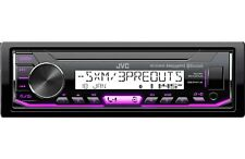 JVC KD-X35MBS MP3/WMA Marine Boat Digital Media Player Bluetooth XM Radio Ready
