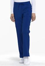 Dickies Scrubs Mid Rise Straight Leg Drawstring Scrub Pant Dk010 Gab Galaxy Blue